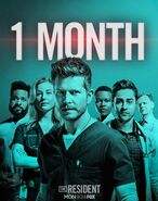 The Resident - Season Two - 1 Month Poster (2)