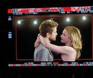 Behind The Scenes - Season Two - Amy Holden Jones Instagram - 2x02 Matt and Emily