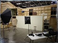 Behind The Scenes - Season Two - Guy D'Alema Instagram - On Set Photo Shoot Space