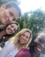 Behind The Scenes - Season Two - Kirsten Anderson Instagram - Set Stand In's 22.08.2018