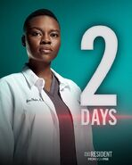 The Resident - Season Two - 2 Days Poster