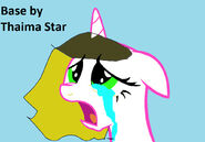 Base mlp your oc crying by alyxbaiz by alyxbaiz d yvjd png