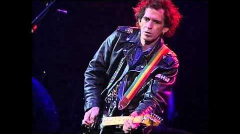 Keith Richards - How I Wish - Boston 1993