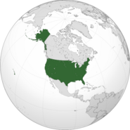 USA orthographic