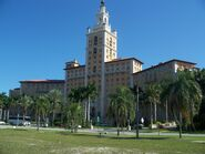 Biltmore Hotel front view angled