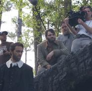 Seth & Stuart behind the scenes