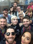 Salem Comic-Con 2014 Seth Janet Iddo Ashley Elise Shane Simon Brannon