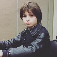 OliverBell posingasDevilbackstage Instagram