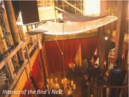 Interior of the Bird's Nest