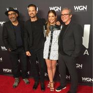 NYCC 2016 Salem Cast and crew