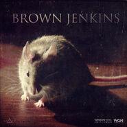 Brown Jenkins Poster Card