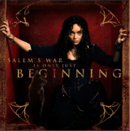 Tituba promotional poster Salem season 3 - beginning