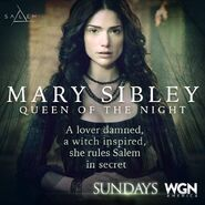 Salem S1 Poster Quote - Mary Sibley Lover Damned