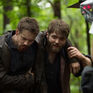Shane West and Seth Gable 212 behind the scenes