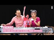 FAGHAG's Pam Oei and Julian Wong jam to iconic Pride anthems!