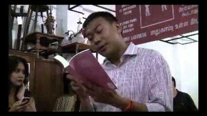 """""""I_will_survive""""_book_launch_-_Reading_by_Pastor_Miak_Siew"""