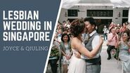 Lesbian Wedding In Singapore- Joyce & Qiuling