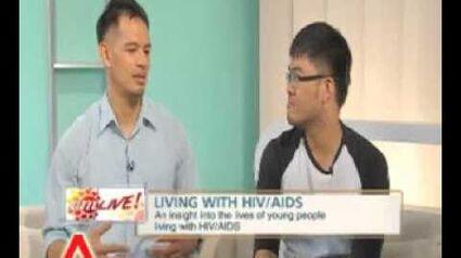 AM_Live!_interviews_HIV_+ve_individuals,_Singaporean_Avin_and_activist_Laurindo