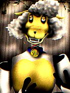 Sha the sheep (animatronic appearance)