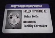 Brian Stells ID Card