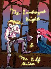 Lumberjack Knight Elf Maiden by Cortz
