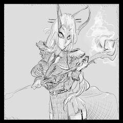 Doodles Xrn Anthro by JohnDoe