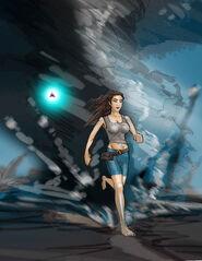Ryoka outruns Tornado by MG