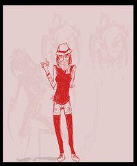 Anthromorph girl next door Creler-chan by JohnDoe