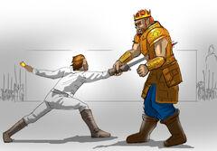 Duel Raelt Flos by MG