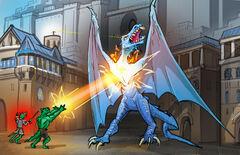 Grim Saliss Bird VS Wyvern Lord by MG