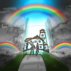 Rainbow date by mg