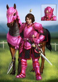 Knight of the Petal by Zamberz