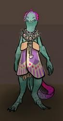 Lizard girl by flauschesoeckchen