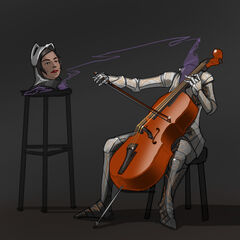Cellist Dullahan by MG