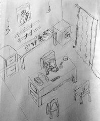 Zevara asleep sketch by Saladan0