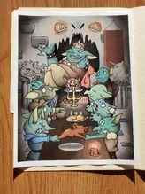 Tremborag's feast by Sabina Malla