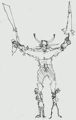 Hornsdocking sketch by mg