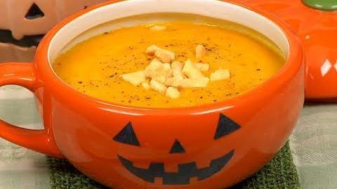 How_to_Make_Halloween_Pumpkin_Potage_ハロウィンのカボチャのポタージュ作り方