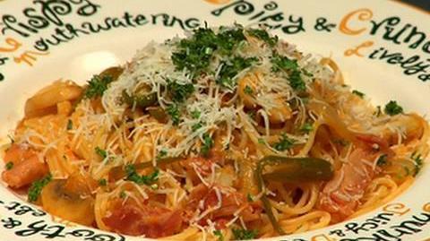How to Make Spaghetti Napolitan スパゲティナポリタンの作り方