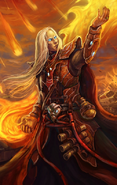 Fire mage (close up)