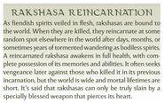 Rakshasa Reincarnation