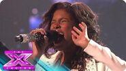 "Diamond White's Fans Chose ""Diamonds"" - THE X FACTOR USA 2012"