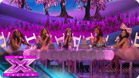 """Fifth Harmony """"Anything Could Happen"""" - THE X FACTOR USA 2012"""
