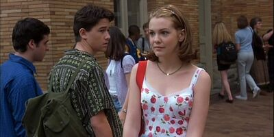 The First Time Bianca Is Introduced into the film