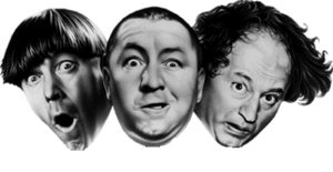 Current Official Three Stooges Logo