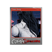 The Coma 2 trading card 08 Dark Song foil
