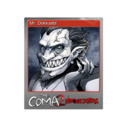 The Coma 2 trading card 15 Mr Dokkaebi foil