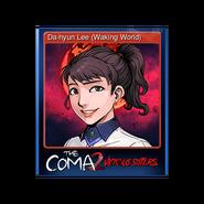 The Coma 2 trading card 03 Da-hyun Lee (Waking World)