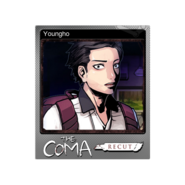 The Coma 1 Recut trading card 02 Youngho foil