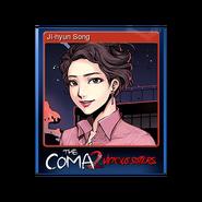 The Coma 2 trading card 07 Ji-hyun Song